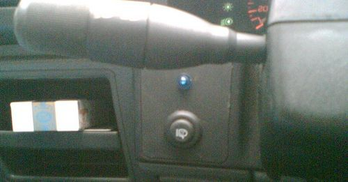 Установка комплекта омывателей фар СКИФ на Renault 19.  См. полностью статью.  2007 Wintt.