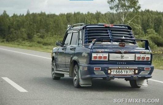 Тюнинг авто СССР - Автокадабра
