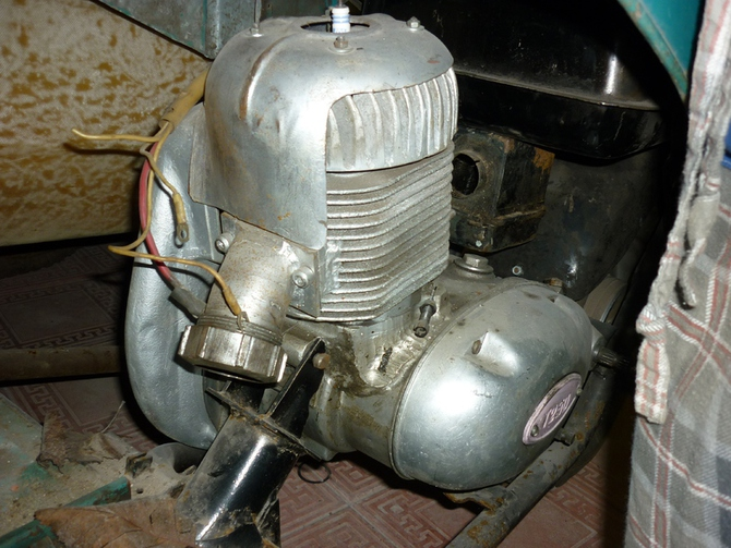 Тюнинг двигателя мотороллера муравей