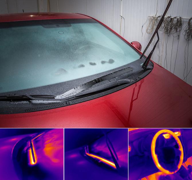 почему замерзают стекла на киа рио