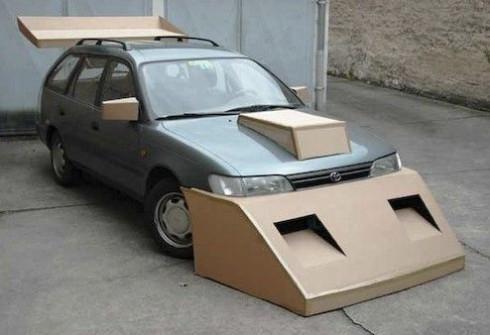 Как сделать на машине тюнинг