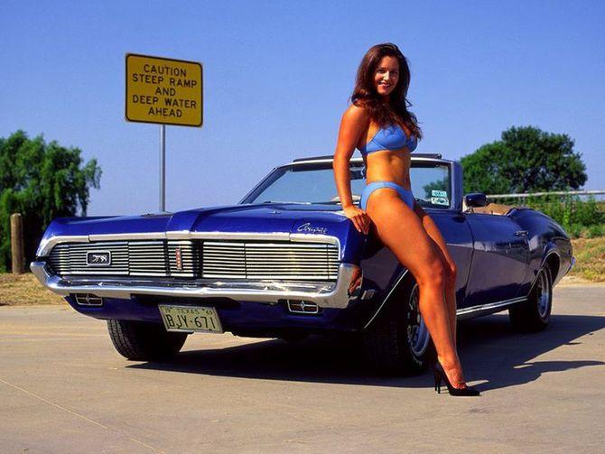 Смотрите также. Больше нечего добавить - горячие девочки и горячие авто!