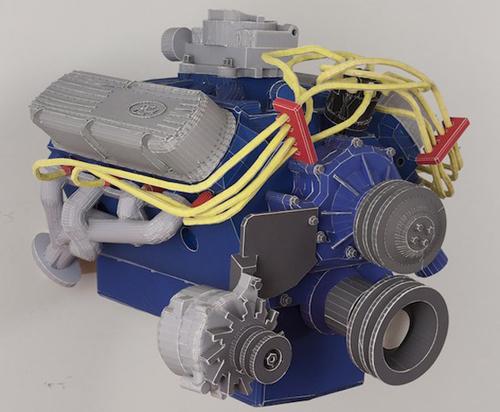 Как сделать мотор из картона