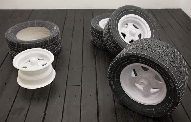 Как сделать колёса для моделей