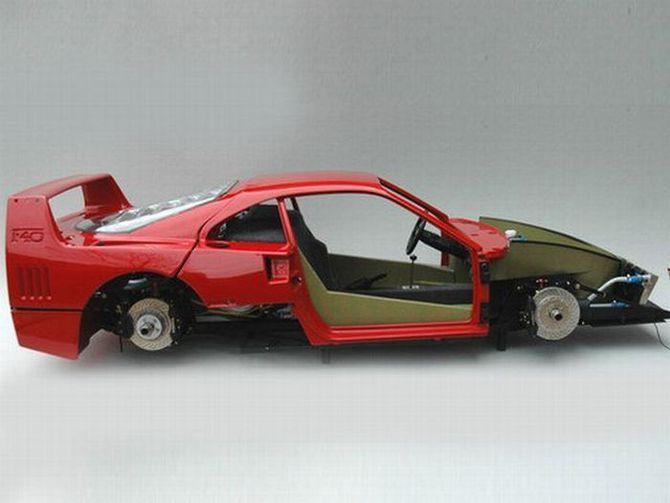 Ferrari F40 своими руками - Автокадабра