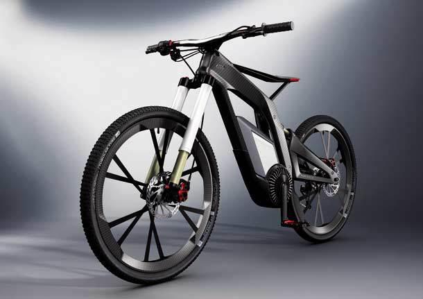 велосипеды ауди мерседес электрические