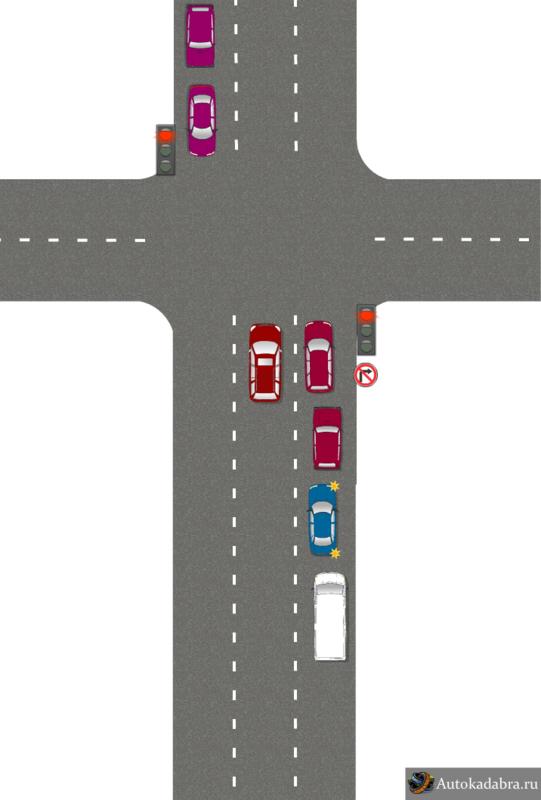 1) дорога без разметки,