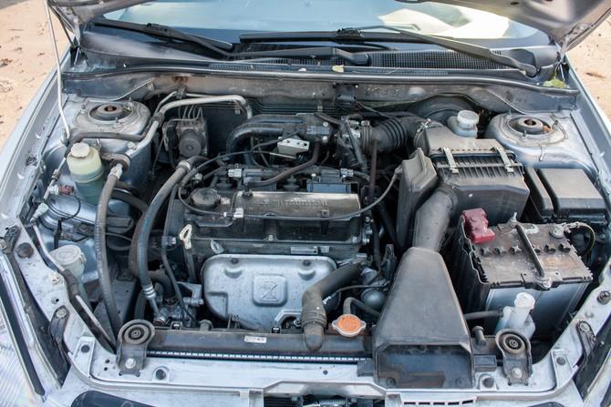 Лансер 9 помыть двигатель