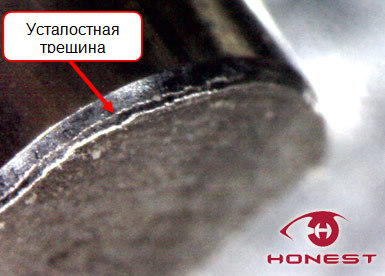Причины обрыва юбки поршня двухтактного двигателя
