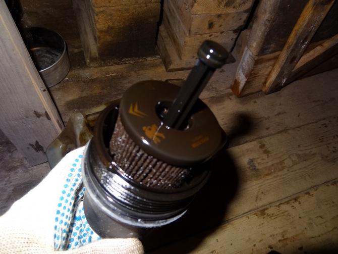 Замена масляного фильтра пежо 307
