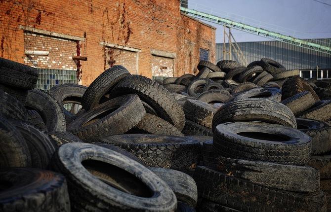 как утилизируют автомобильные шины