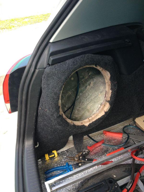 Стелс саб в машину своими руками 4275